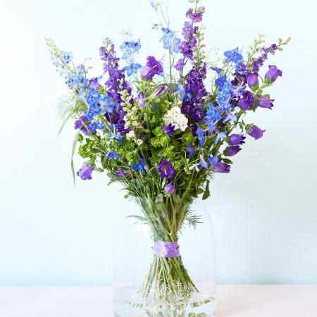 Veldboeket gemaakt door bloemenwinkel Studio 31 in Den Haag