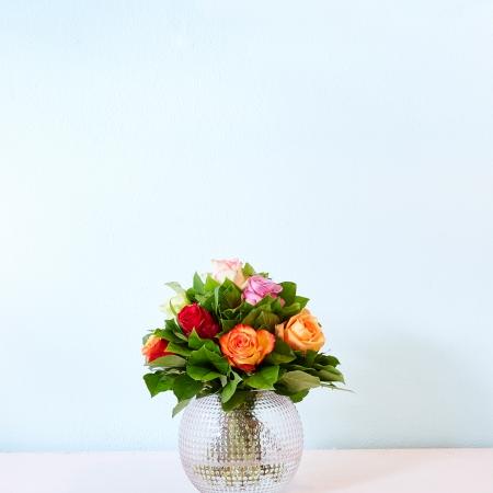 Sjiek klassiek boeket gemaakt door bloemist Studio 31